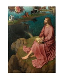 Detail of the Right Panel of the Triptych of Saint John the Baptist and Saint John the…