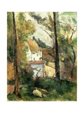 House in the Trees  Auvers  1879