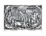 Ver  Engraved by Philip Galle  C1580