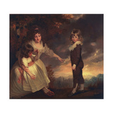 Susannah  Philip Lake  and Maria Godsal: the Godsal Children  1789