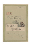 Title Page  Illustrations for 'Bleak House'  Part 1  C1920s