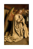 Angel Annunciate  from the Exterior of the Left Wing of the Ghent Altarpiece  1432 (See 472325)