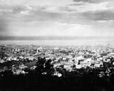 View of Montreal from Mount Royal Park  C1860-90