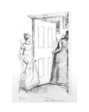 After a Short Survey'  Illustration to 'Pride and Prejudice' by Jane Austen  Edition Published in…