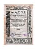 Juan De Ortega (1480-1568) Manuscript