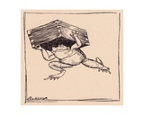 The Little One Went and Brought the Box Illustration by Arthur Rackham from Grimm's Fairy Tale …