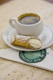Cannoli and Espresso at Ferrara's Pasticceria Espresso Bar in Little Italy  New York
