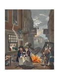 Times of Day  Night  Illustration from 'Hogarth Restored: the Whole Works of the Celebrated…