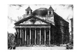 View of the Pantheon  from the 'Views of Rome' Series  C1760