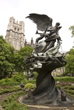 Peace Fountain Outside Cathedral Church of St John the Divine  New York