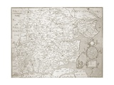 Map of Essex  1602/03