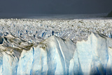 Detail of Glaciar Perito Moreno with Blue Ice Caverns
