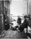After Dinner Gathering on Verandah of a Chinaman's House  C1867-72