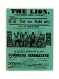 Louisiana Serenaders at the Lion  Hackney
