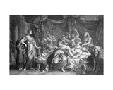Andromache Bewailing the Death of Hector  Engraved by Domenico Cunego  1764