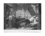The Death of Chatterton  Engraved by Edward Orme  1794