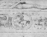 Tomb of a Prince  from the Jacopo Bellini's Album of Drawings