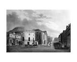 Rotunda and New Rooms  Dublin  1795