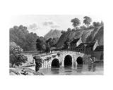 Glenmire Bridge  Near Cork  Engraved by E Finden  1832