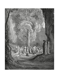 Virgil Shows the Tree to Dante  1880