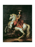 Portrait of Louis Xiv on a Horse