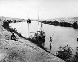 The Suez Canal  C1875