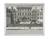 View of the Justice Hall  Old Bailey  C1740