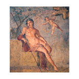Cupid Leading Zeus's Eagle to Ganymede  from the House of Meleager  Pompeii