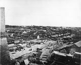 View of the Central Street in the Chinese Quarter of Peking  C1870
