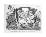 Stage Coach Passengers Asleep  Plate 43 to 'Eccentric Excursions  Or Literary and Pictorial…