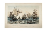 The Battle of Lake Erie  Commodore OH Perry's Victory  1878