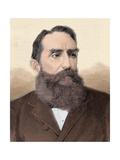 Rafael Nunez (1825-1894) Colombian Politician