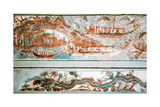 Minoan Art Cyclades Islands Naval Expedition Fresco