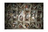 Michelangelo (1475-1564) Sistine Chapel (1508-1512) Ceiling
