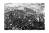 Edinburgh from the Calton Hill  Engraved by George Cooke  1820