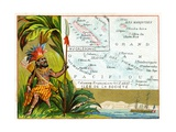 French Possessions in Oceania  C1890