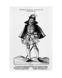 A Nobleman from Misnia and Saxonia  Illustration from 'trachtenbuch' by Hans Weigel  Published 1577