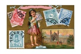 Persian Postage Stamps  1897
