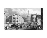 Waterloo Place  the National and Nelson's Monuments and Calton Hill  Edinburgh  Engraved by…