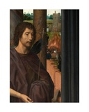 Detail of the Central Panel of the Triptych of Saint John the Baptist and Saint John the…