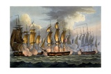 The Capture of La Prévoyante and La Raison  May 17th 1795  from 'The Naval Achievements of Great…