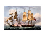 The Capture of La Confiante  May 31st 1798  from 'The Naval Achievements of Great Britain' by…