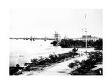 Waterfront  Saigon  C1870s