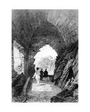 Saint Helier's Hermitage and Elizabeth Castle  Jersey  1870