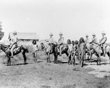Dacoits Being Brought in by Mounted Infantry  C1890