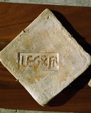 Tile Inscribed by the Tenth Roman Legion
