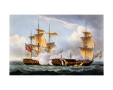 The Capture of La Vestale  August 20th 1799  from 'The Naval Achievements of Great Britain' by…