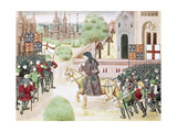 History of England Peasants' Revolt Led by Wat Tyler in 1381 Meeting Between Wat Tyler and the…