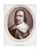 Oliver Cromwell  Attributed to Maurin  Engraved by De Langlume
