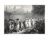 The Surrender of Two Sons of Tippoo Sultaun  Engraved by AH Payne